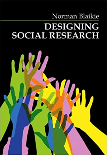 Amazon Com Designing Social Research The Logic Of Anticipation 9780745617664 Blaikie Norman Books