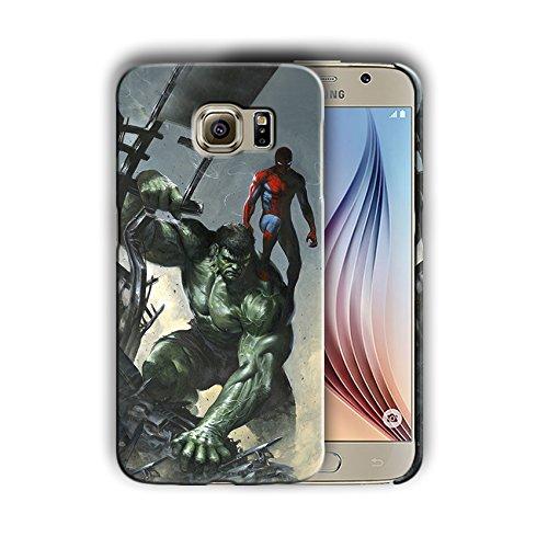 timeless design e6c48 4c5eb Amazon.com: Spiderman for Samsung Galaxy S8 Hard Case Cover (spider8 ...