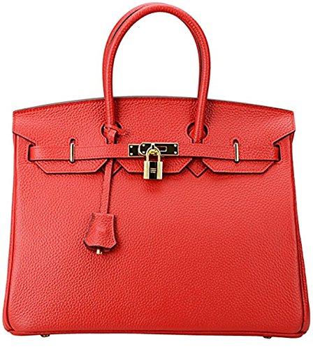 YUANYUAN Bolso de tela de Lona para mujer Red