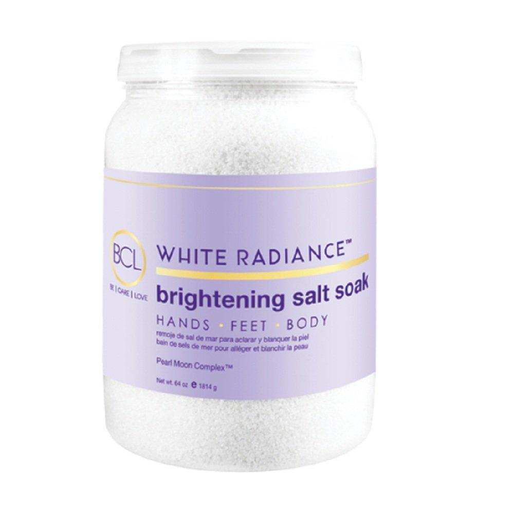 Bio Creative Lab BCL Spa White Radiance Brightening Salt Soak, 64 Ounce