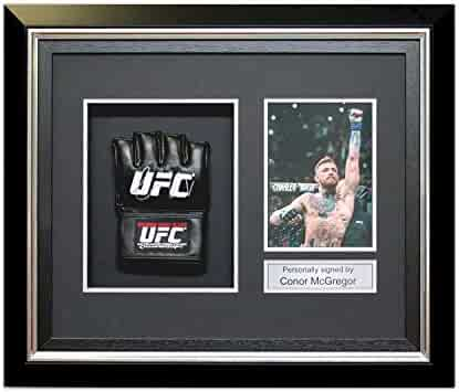 b9f68f7cebf ... Authentic Certified - Autographed MLB Gloves. seller  Sports Memorabilia.  (0). Conor McGregor Signed UFC Glove In Deluxe Black Frame With Silver Inlay