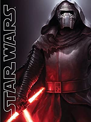 """Disney Lucas Films' Star Wars Kylo Ren with Light Saber Printed Silk Touch Warm Sherpa Throw / Blanket, 60 by 80"""" Twin size"""