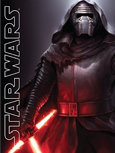 Disney Lucas Films' Star Wars Kylo Ren with Light Saber Printed Silk Touch Warm Sherpa Throw / Blanket, 60 by 80'' Twin size