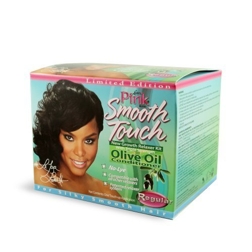 Luster's Pink Smooth Touch Olive Oil Relaxer Regular by Lusters