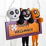 Emubody Halloween Props Suspension Label Accessories Door And Window Party Decorate Cute