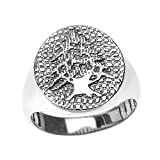 Men%27s Solid 925 Sterling Silver Textur