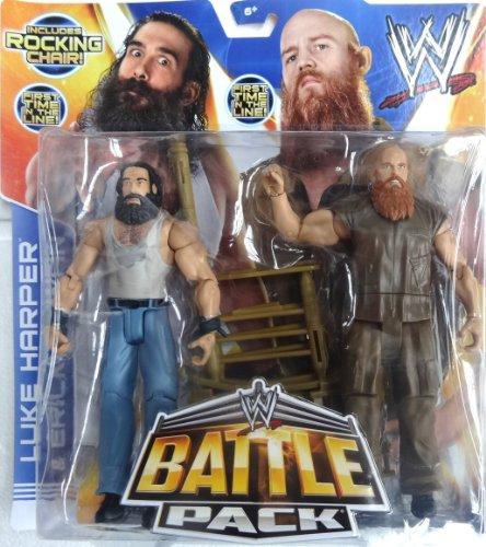 WWE MATTEL Battle Packs 28 LUKE HARPER & ERIC ROWAN THE WYATT FAMILY Figures