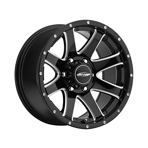 UPC 844658035805, Pro Comp Wheels 8186-7983 Xtreme Alloys Series 8186 Series Gloss Black/Milled Finish