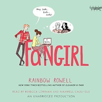 amazon com fangirl audible audio edition rainbow rowell rebecca