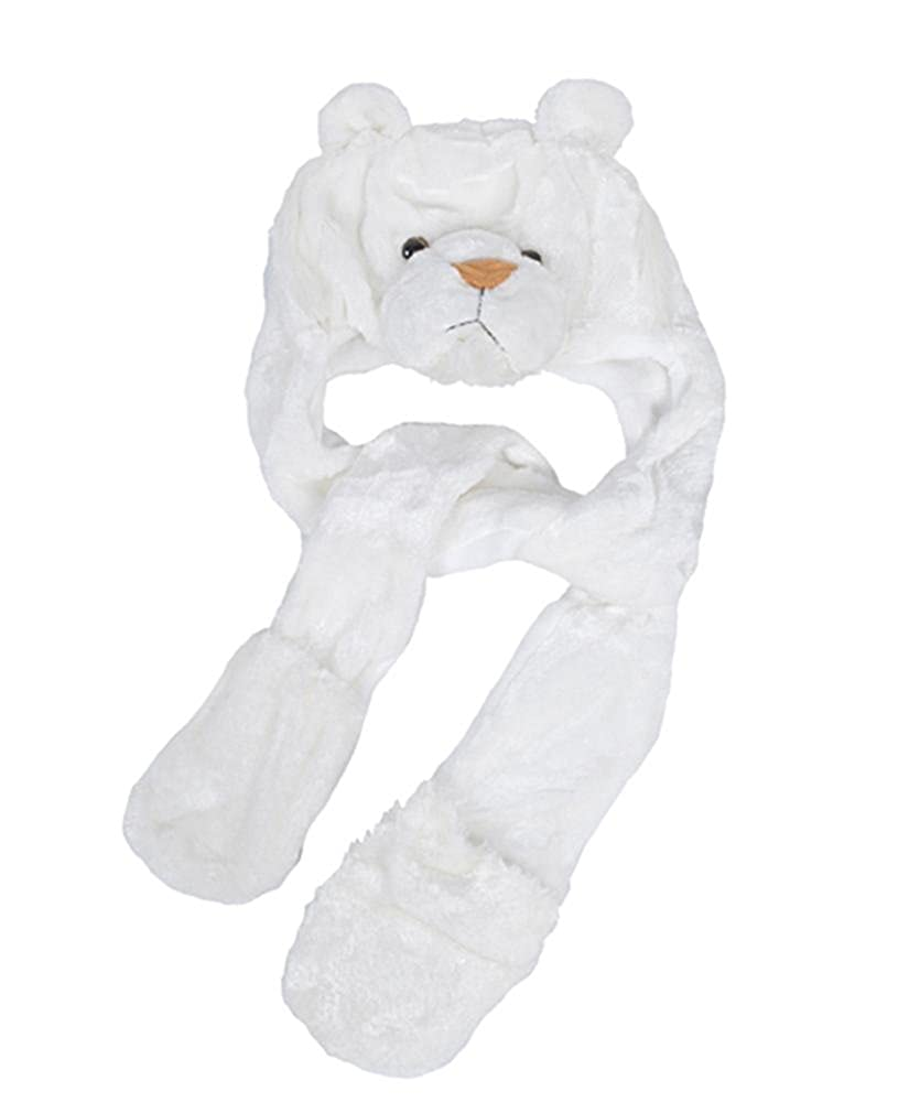 White Tiger AHP2011 Animal Hat With Paw