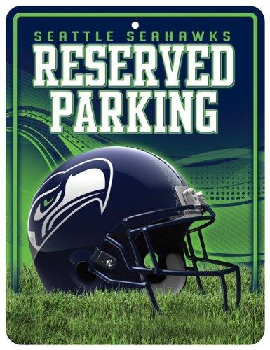 Seattle Seahawks Metal Parking Sign ()