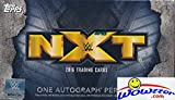 #10: 2016 Topps WWE Wrestling NXT EXCLUSIVE Factory Sealed Box with AUTOGRAPH! Look for Autographs of Bayley, Liv Morgan, Shinsuke Nakamura, Bliss, Aliyah, Scott Dawson, Asuka, Dash Wilder & Many More!