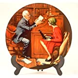 Norman Rockwell Collector Plate - The Professor