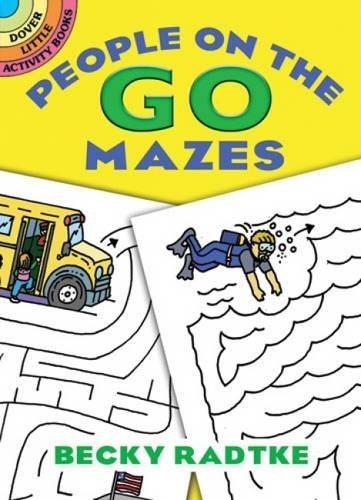 People On the Go Mazes (Dover Little Activity Books)