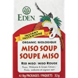 Eden Foods Instant Red Miso Soup, 32g