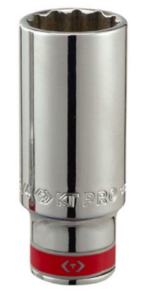 KT Pro Tools C1340S18 3//8 Drive 12-Point Deep Socket