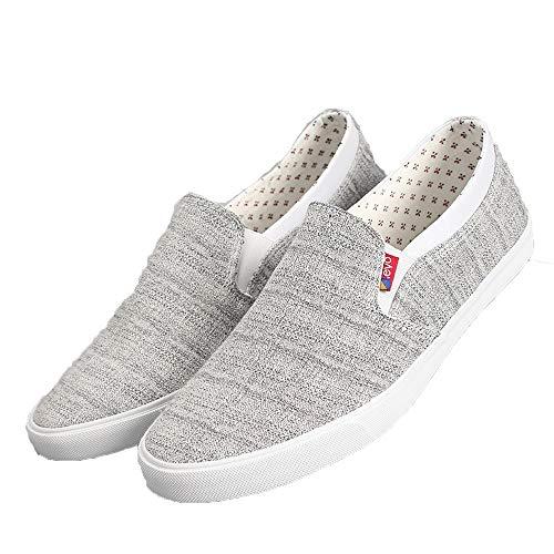 Eu Slip Ligeras Gris Espadrilles Super Shoes Caqui Deck Antideslizantes On 40 Duraderas Jincosua fqTgv