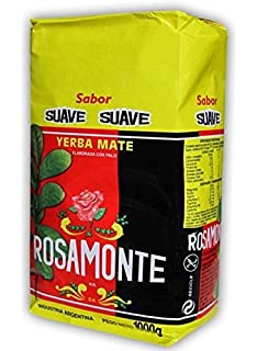 Yerba Mate Rosamonte Suave - 1 Bags of 2.2 Lbs