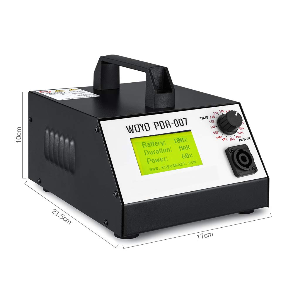 GDAE10 Electromagnetic Induction Pit Repair Machine,Paintless Dent Repair Machine, Induction Heater for Removing Dent Sheet Metal Repair Tool - 110V (Hotbox WOYO PDR007) by GDAE10 (Image #3)