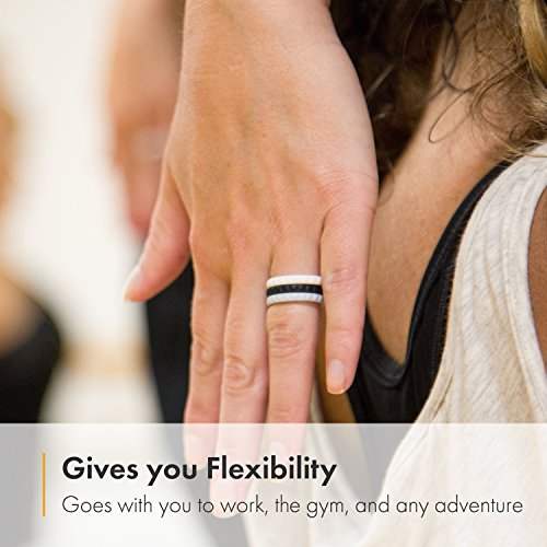 band stacked milgrain gold rings white for eternity diamond full ring wedding her baguette