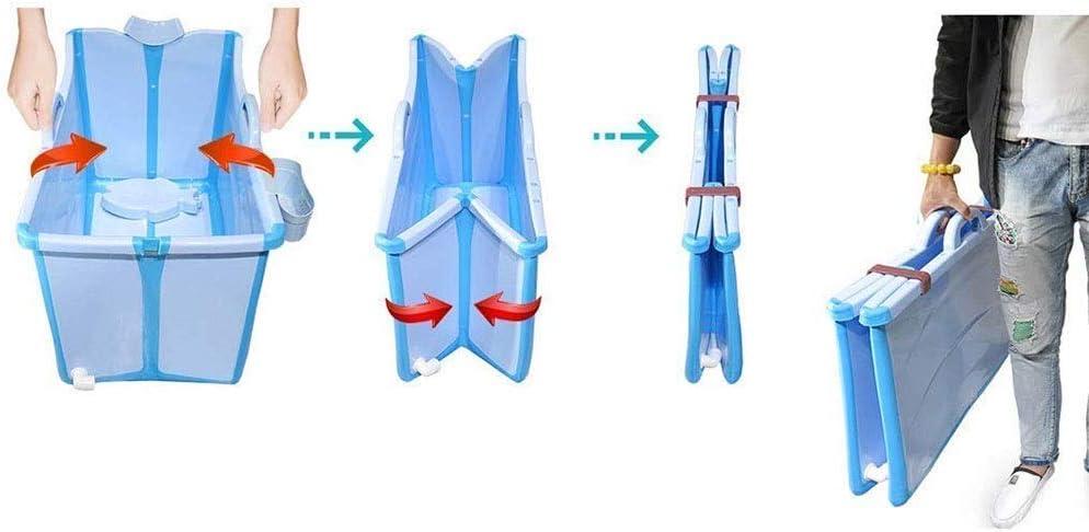 Baignoire pliante portable baignoire adulte pliable Portable enfant plastique baignoire pour b/éb/é Piscine baignoire pvc Avec un couvercle