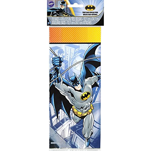 Bags Goody Homemade (Wilton 16 Count Batman Treat Bags, Multicolor)