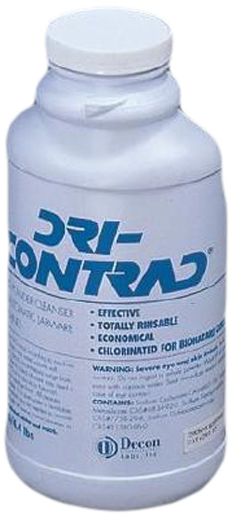 Decon Labs 2002 Dri-Contrad, 2Kg (Pack of 6) by Decon Labs