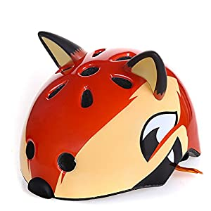 Toddler Kids Bike Helmet West Biking 3D Safety Protective Bicycle Helmet Child for Cycling Scooter Skating