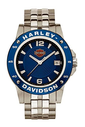 Harley-Davidson Men's Bulova Wrist Watch. 78B118
