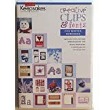 Keepsakes Creative Clips & Fonts for Winter Memories