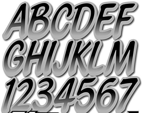 (Stiffie Whipline Black/Silver 3