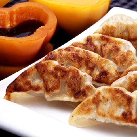 Order Wholesale Tasty Pork Potstickers for Party - Gourmet Frozen Beef Appetizers (Set of 4 Trays) by Appetizersusa