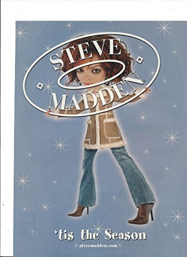 print-ad-for-steve-madden-shoes-2002-tis-the-season-big-head-model-campaign