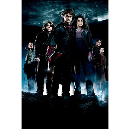 Harry Potter and the Goblet of Fire cast standing together 8 x 10 Inch Photo