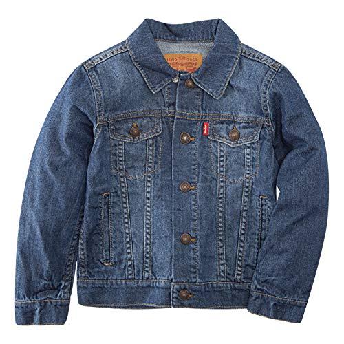 - Levi's Boys' Big Denim Trucker Jacket, Siren, S
