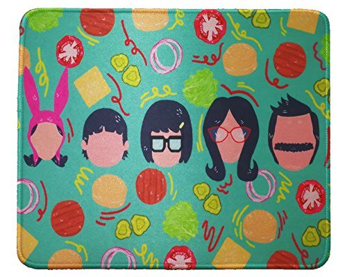 12x10 Inch Bob's Burger Hero Family Cartoon Mousepad Large Mouse Pad Mouse mat Waterproof