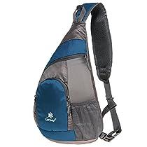 Coreal Sling Shoulder Bag Lightweight Chest Daypack Crossbody Bag for Men Women