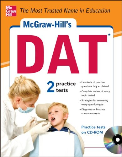 McGraw-Hill's DAT with CD-ROM (Mcgraw-Hill Test prep) ()