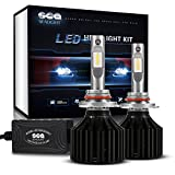 Automotive : SEALIGHT X2 9006/HB4 LED Headlight Conversion Kit - 50W 8000LM - 16x CSP LED Chips - Cool White 6000K -2 Yr Warranty