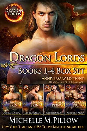 (Dragon Lords Books 1 - 4 Box Set: Dragon-Shifter Romance / Anniversary Editions )