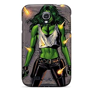 Anti-Scratch Hard Phone Case For Samsung Galaxy S4 With Provide Private Custom Fashion She Hulk I4 Pattern CristinaKlengenberg