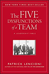 In The Five Dysfunctions of a Team Patrick Lencioni once again offers a leadership fable that is as enthralling and instructive as his first two best-selling books, The Five Temptations of a CEO and The Four Obsessions of an Extraordinary Exe...