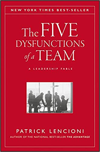 The Five Dysfunctions Of A Team A Leadership Fable 1st Edition