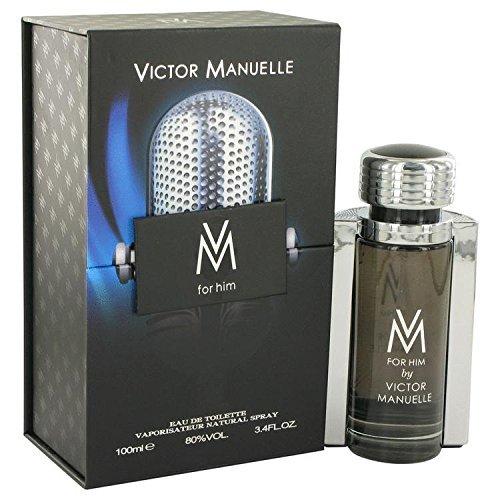 Victor Manuelle by Victor Manuelle Eau De Toilette Spray 3.4 oz for Men - 100% Authentic