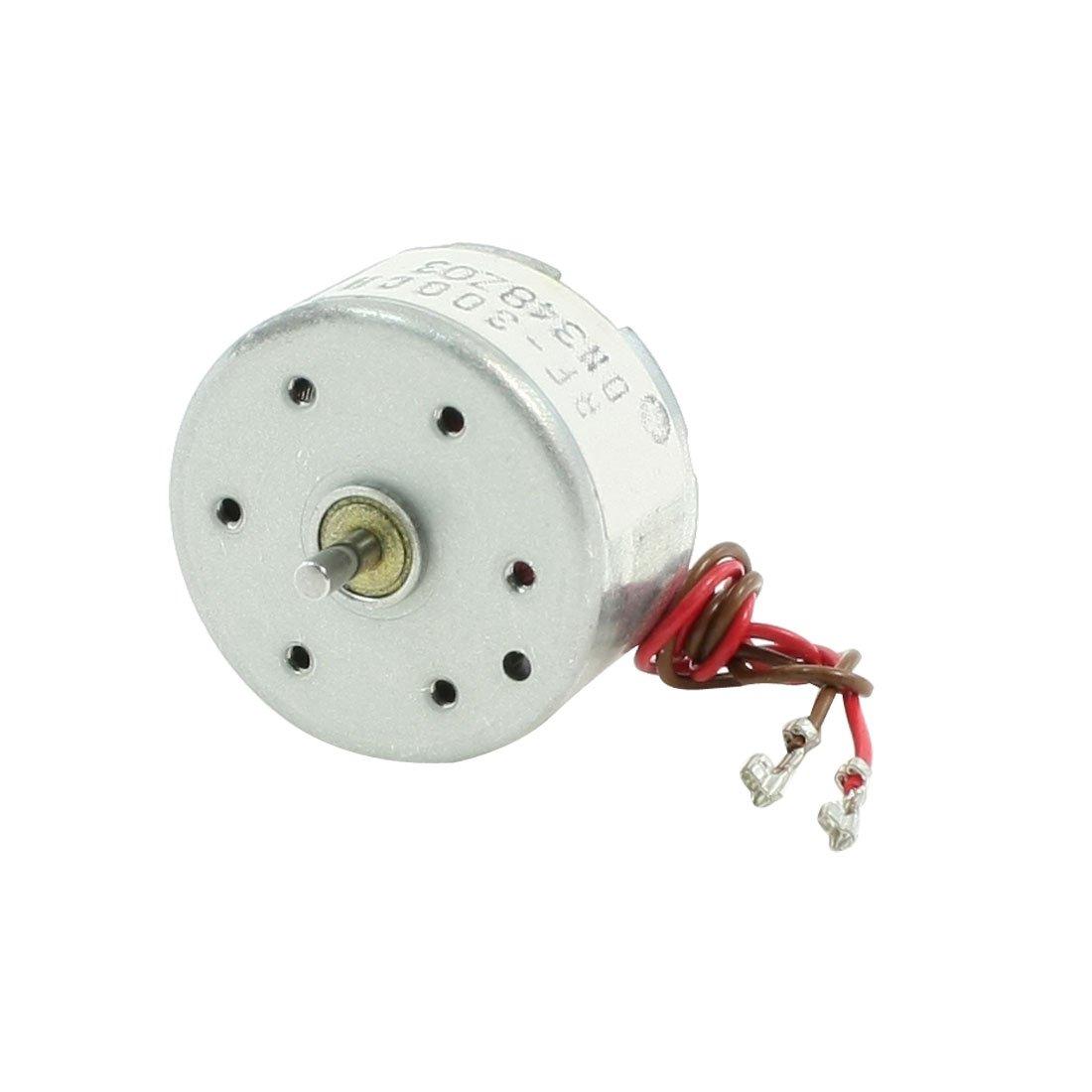 9/V Micro Moteur pour lecteur de CD 2/pcs Rc300-ft-08800/6000rpm DC 1.5