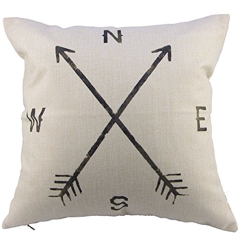 leaveland-cotton-linen-square-decorative-throw-pillow-case-cushion-cover-compass-16-x-16-compass