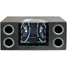 Pyle Pyramid BNPS102 10-Inch 1000-Watt Dual-Bandpass System with Neon Accent Lighting (Discontinued by Manufacturer)
