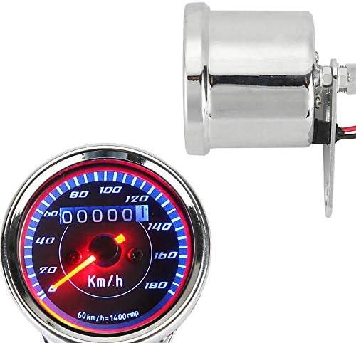 FidgetKute LED Backlit Dual Speedometer Fit Kawasaki Vulcan VN 800 900 1500 1600 1700 2000