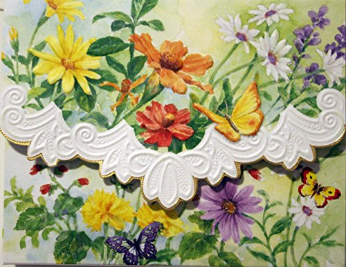 Carol S Garden: Carol's Rose Garden Peony Mix Blank 10 Card Set Portfolio