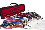 Large Mirrored Marlin Lure Pack by Bost - Un-Rigged